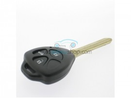 Toyota Key - 3 buttons - 433 Mhz - key blade TOY43 - 4D67 chip - after market product